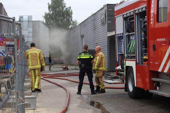 Uitslaande brand Veldhoven.