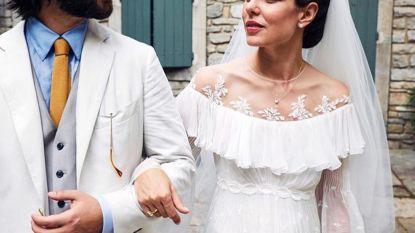 Charlotte van Monaco nu ook voor de kerk getrouwd