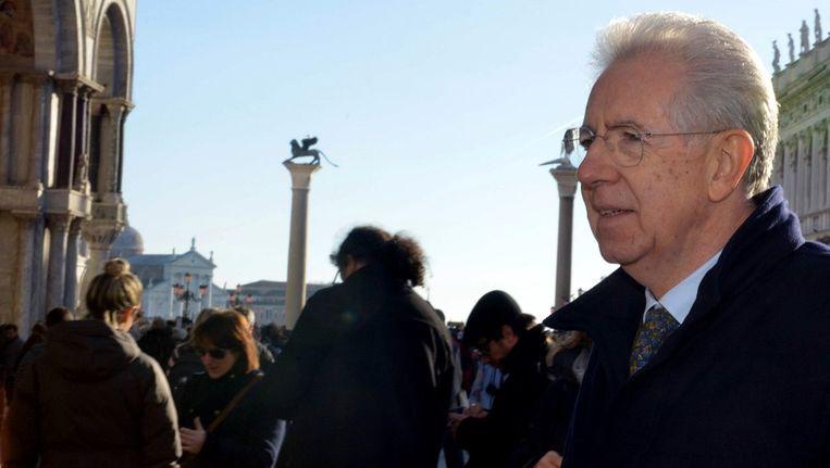 De Italiaanse premier Mario Monti. Beeld afp