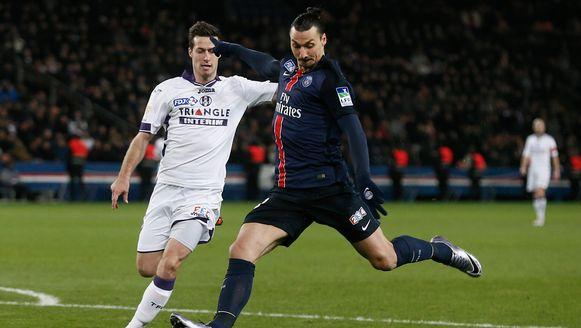 Uros Spajic, hier in duel met Zlatan Ibrahimovic