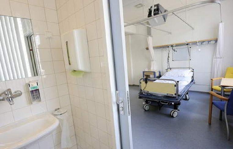 Archieffoto van een ziekenhuisbed.