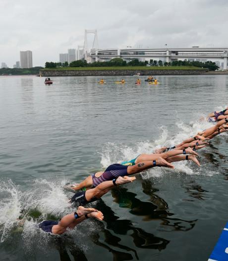 La chaleur de l'eau également un problème pour les triathlètes à Tokyo