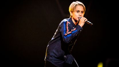 Matisse (13) zingt Stef Bos in Knock-outs The Voice Kids