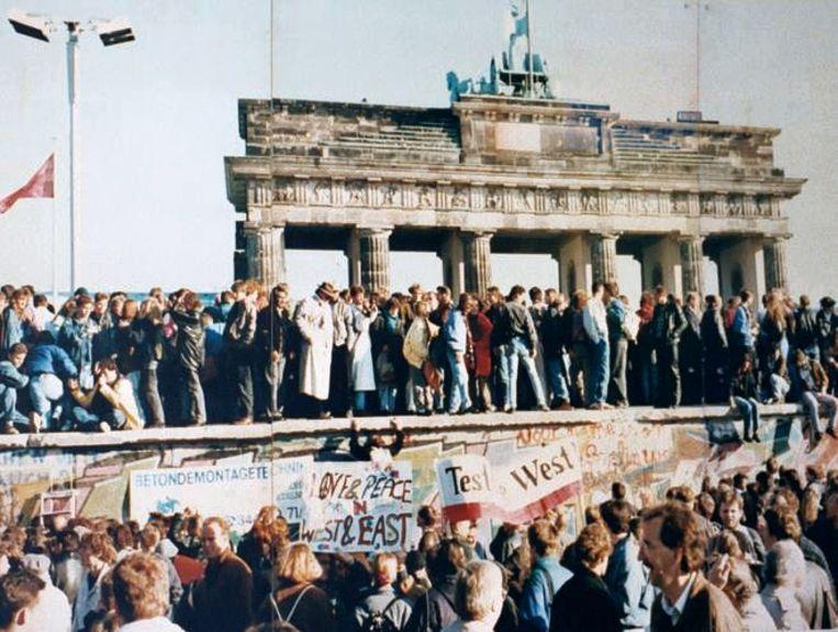 De Berlijnse Muur op 9 november 1989, vandaag 28 jaar, 2 maanden en 26 dagen geleden.