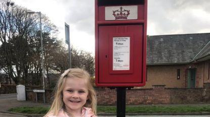 Meisje (4) stuurt brief naar moeder in de hemel en krijgt hartverwarmend antwoord