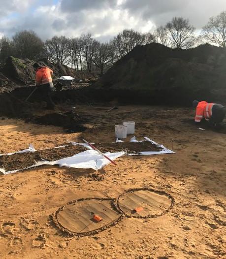 Zeldzaam: honderden vuurstenen uit middensteentijd gevonden bij Voorthuizen