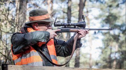 Jagers paraat om eventuele komst everzwijnen aan te pakken