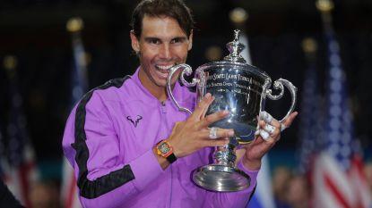 """US Open onthoofd: naast Federer ontbreekt ook titelverdediger Nadal: """"Barbaarse kalender"""""""