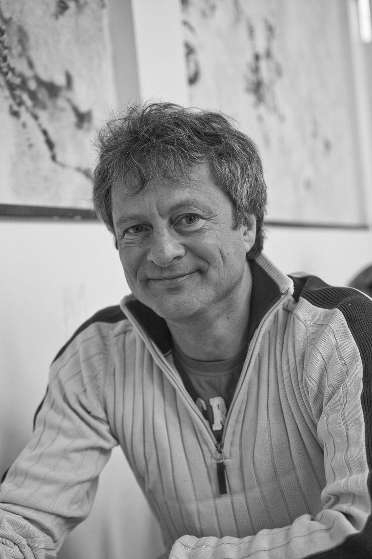 Aldo Dikker, hoofdredacteur van Zeggenschap. Beeld null