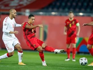 En of Tielemans op vraag van Jan Mulder meer op doel trapt: ook tegen Denemarken is het al snel raak
