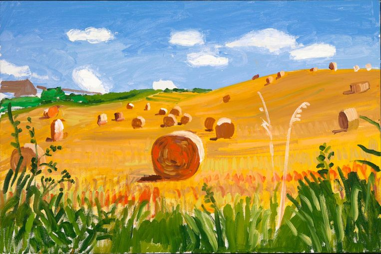 Kilham to Langtoft II, 27 July 2005. Beeld David Hockney