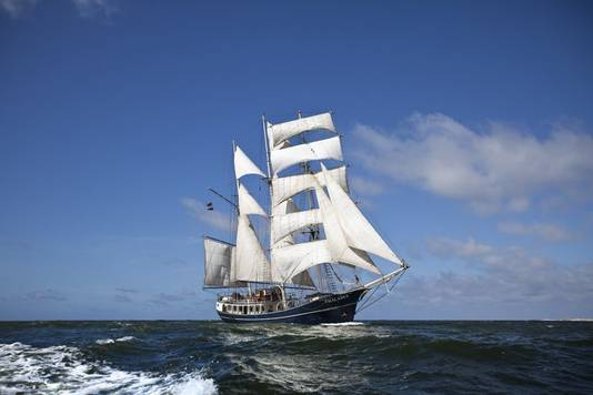 Tall Ship Thalassa.