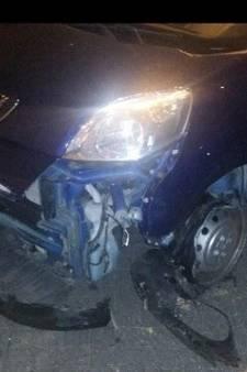 Man rijdt tegen vangrail op A27 na ruzie met zijn vrouw