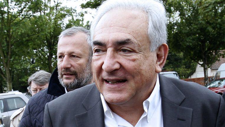 Dominique Strauss-Kahn. Beeld AFP