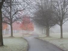 La Belgique sous la brume