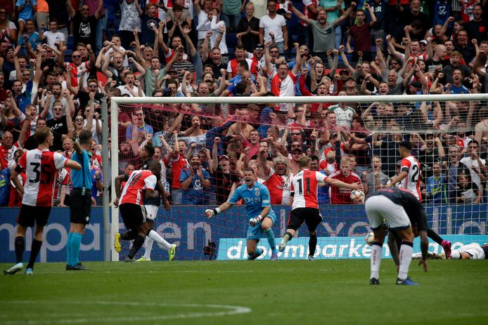 15 maart stond Sparta - Feyenoord op het programma.
