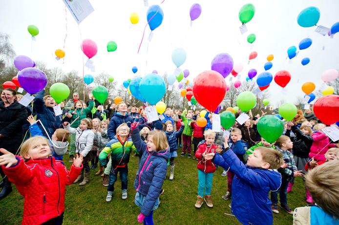 Voorheen kregen de kinderen van de Stichting Kids les in De Hooiberg.
