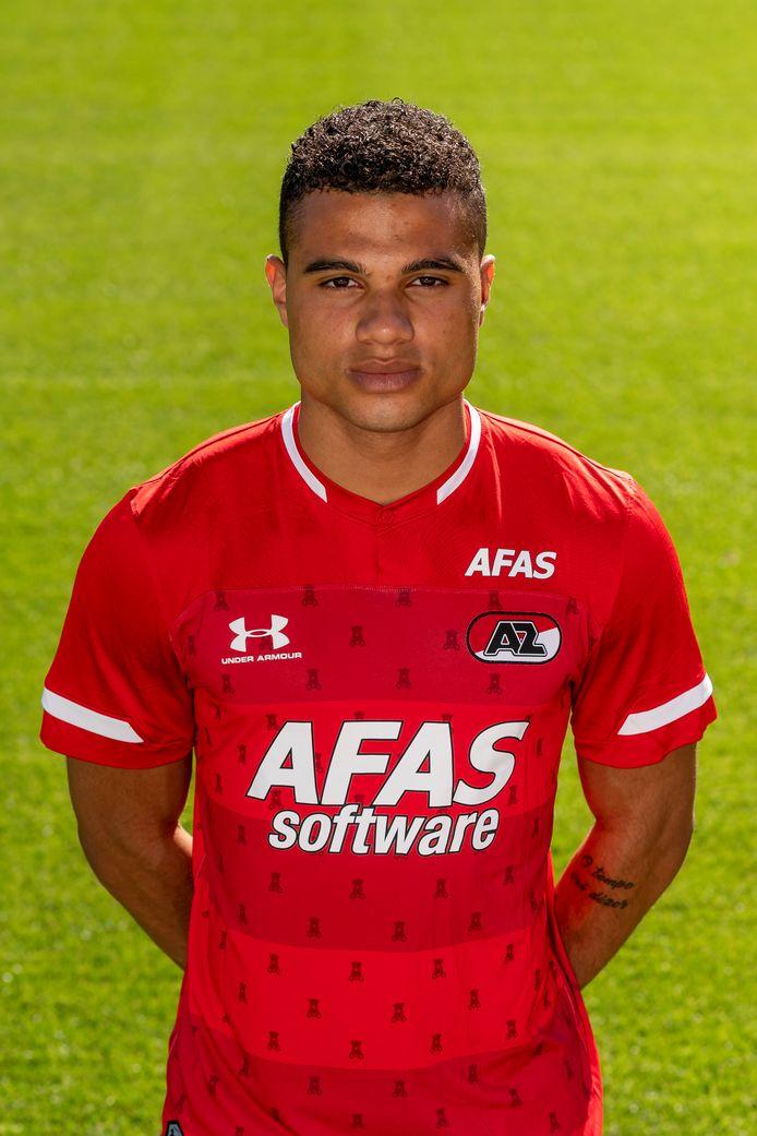 Anton Fase als speler van Jong AZ.