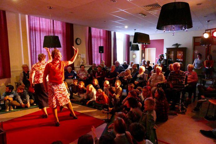 Theater Krachtvoer tijdens de opvoering.