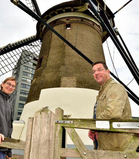Goudse opleiding tot molenaar is in trek: 'Malen in weer en wind maakt je hoofd leeg'