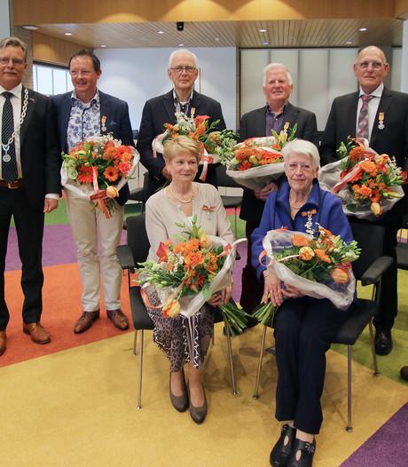 Onderscheiding als waardering voor vrijwilligerswerk in Noordoostpolder