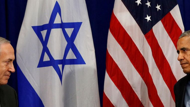 Premier Netanyahu en president Obama Beeld reuters