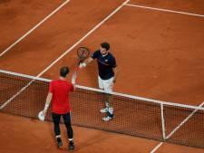 Wawrinka te sterk voor Andy Murray in eerste ronde Roland Garros