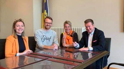 CD&V-kandidaten Yari Van Kaer en Lore Baeten houden marathoncampagne van 23 uur
