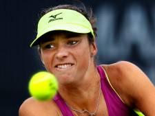 Bibiane Schoofs strandt direct op Wimbledon