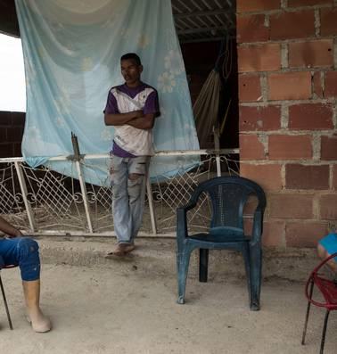 In Colombia wacht Venezolaanse vluchtelingen een koude douche
