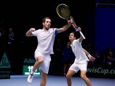 Fransen aan de leiding in finale Davis Cup