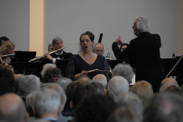 Mezzosopraan Carina Vinke slaagde erin de door Wagner beoogde romantiek tot leven te brengen