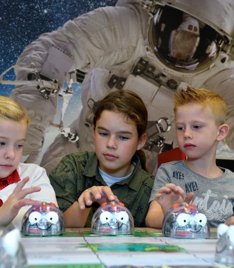 Sciencelab op basisschool in Soest: 'We hebben robotjes'