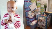 Mama van zieke Eva (2) doet oproep om dochter kaartje voor verjaardag te sturen en reactie is massaal