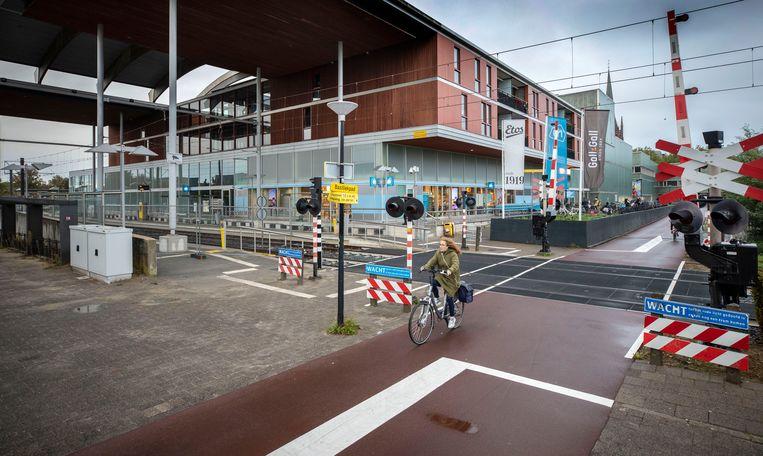 De halte IJsselstein-Binnenstad. Beeld Werry Crone