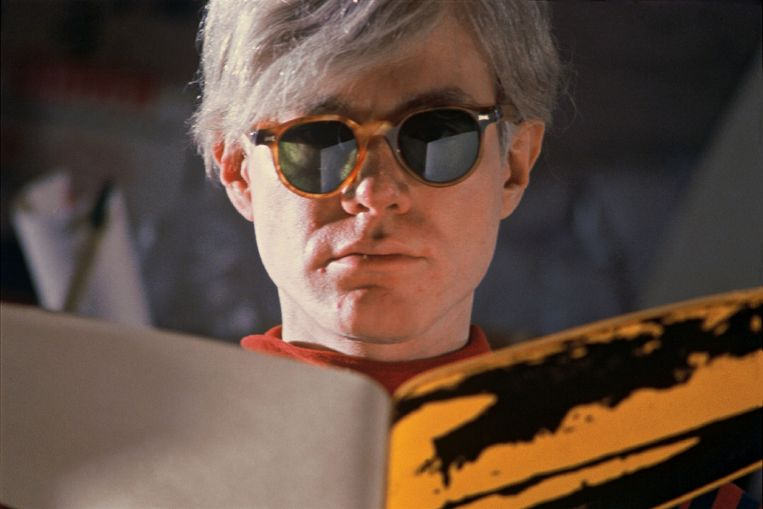 Andy Warhol in 1966. Beeld Getty Images