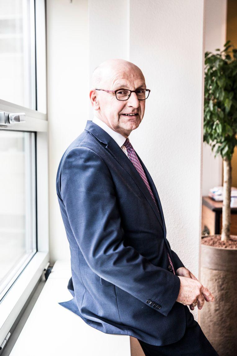 Leendert Verheij, president gerechtshof Den Haag. Beeld Aurélie Geurts