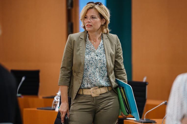 De Duitse minister van landbouw Julia Klöckner. Beeld EPA