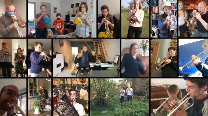 """Muzikanten van De Gilde spelen hun mars in eigen videoclip: """"Een boodschap van hoop"""""""