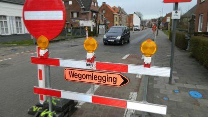 Kruispunt Rommelsweg met Leemweg (deels) weer open