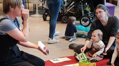 'Huppel Leest' in bib: gratis voorleessessies voor baby's en peuters