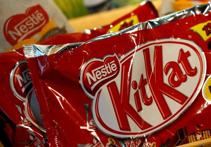 KitKat-producent Nesté wil het gebruik van verpakking uit nieuw plastic met een derde terugdringen