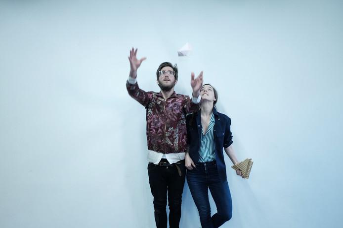 Moving Futures Ingrid Berger Myhre & Lasse Passage - Panflutes & Paperwork.