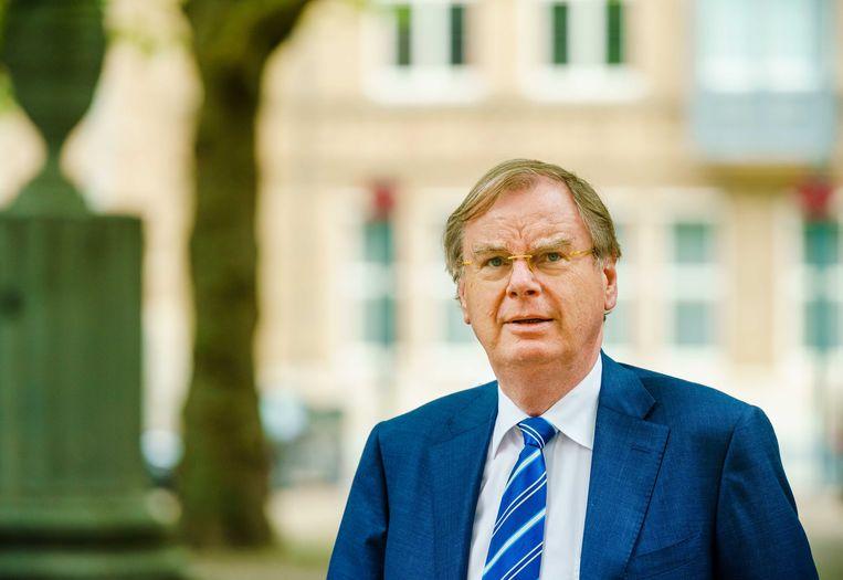 Speciaal adviseur Bernard Wientjes bemiddelde tussen provincie Zeeland en kabinet. Beeld ANP/Marco de Swart