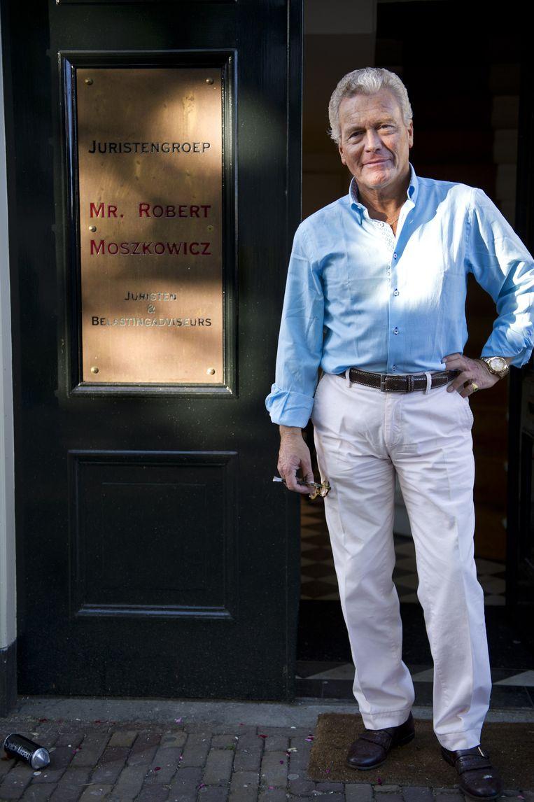 Robert Moszkovicz in 2012. Beeld anp