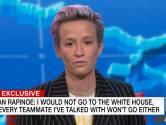 Amerikaanse voetbalster richt zich tot Trump: 'Ik kom niet naar Witte Huis, u sluit mij uit'