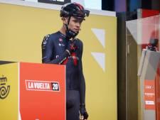 """Neuf ans après, Chris Froome reçoit son trophée de vainqueur de la Vuelta 2011: """"Très spécial"""""""