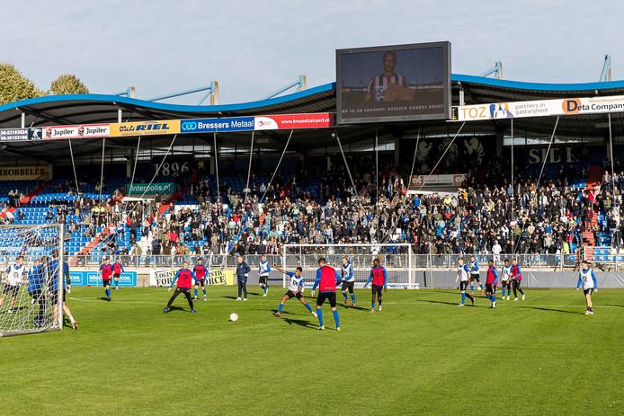 De laatste training van Willem II.