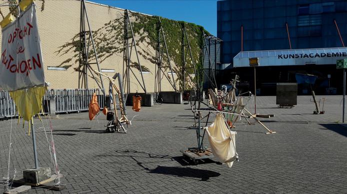 Het 'verrijtbaar museum' van Wessel Verrijt.  Foto Gerrit van den Hoven