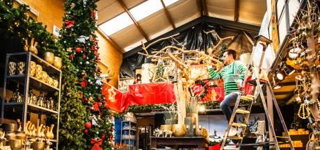 Creatief in coronatijd: Jeroen tovert zijn evenementenbureau om tot grote kersthal
